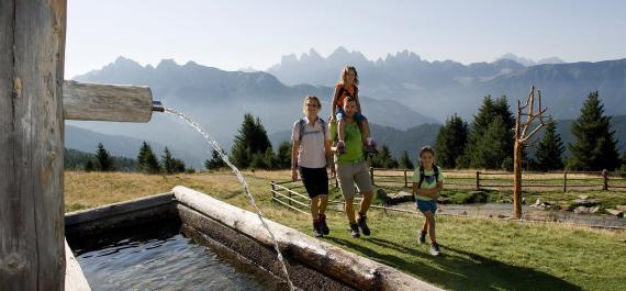 Family holidays in the Valle Isarco